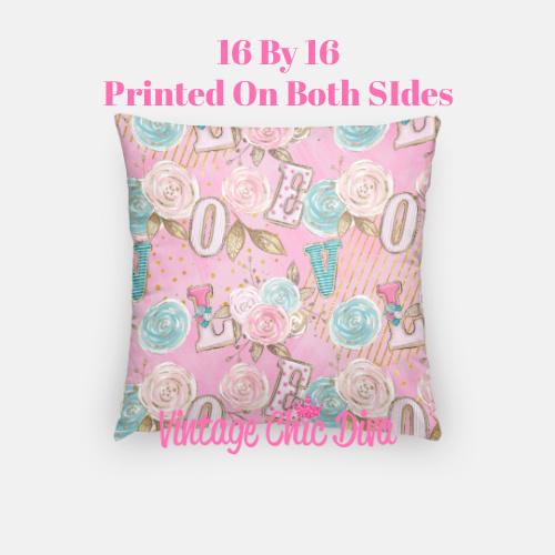 Pink Sweet Fashion20 Pillow Case-