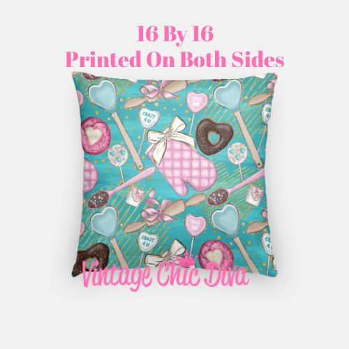 Pink Sweet Fashion21 Pillow Case-