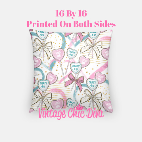Pink Sweet Fashion22 Pillow Case-