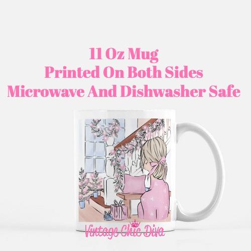 Pink Winter Girl10 Coffee Mug-