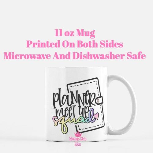 Planner Quote11 Coffee Mug-