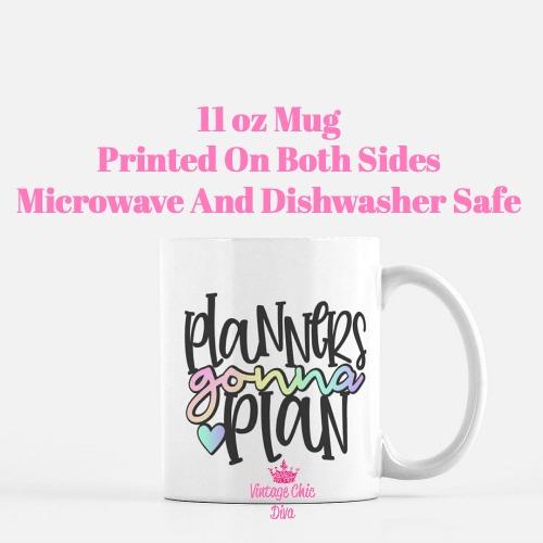 Planner Quote12 Coffee Mug-