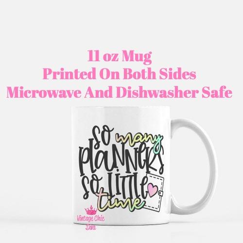 Planner Quote13 Coffee Mug-