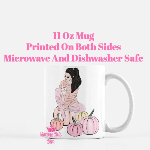 Pumpkin Girl4 Coffee Mug-