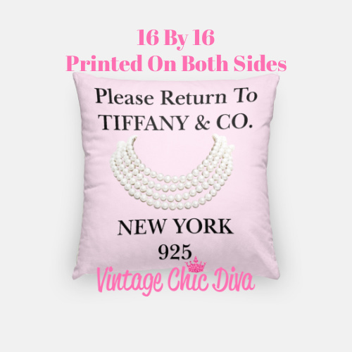 Return To Tiffany5 Pillow Case-
