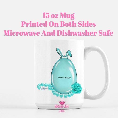 Tiffany Easter Set6 Coffee Mug-