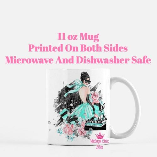 Tiffany Fashion Girl1 Coffee Mug-