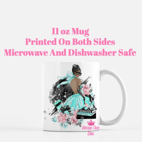 Tiffany Fashion Girl2 Coffee Mug-