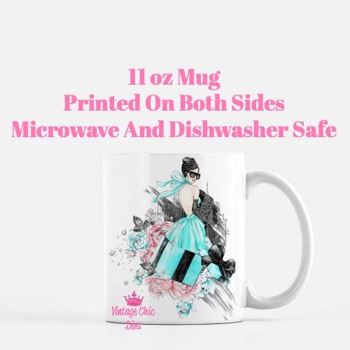 Tiffany Fashion Girl3 Coffee Mug-