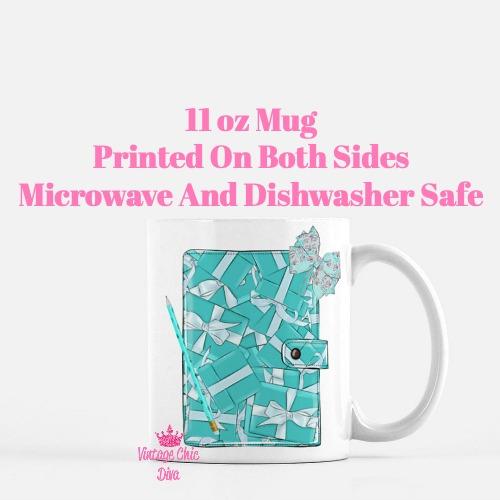Tiffany Planner2 Coffee Mug-