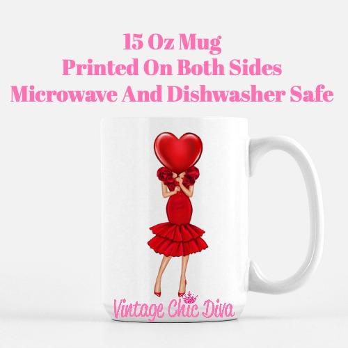 Valentine Girls50 Coffee Mug-