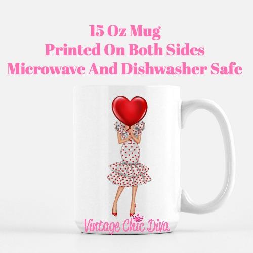 Valentine Girls51 Coffee Mug-