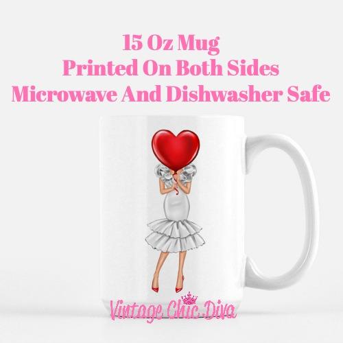 Valentine Girls52 Coffee Mug-