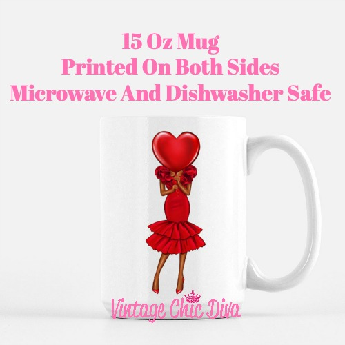 Valentine Girls54 Coffee Mug-