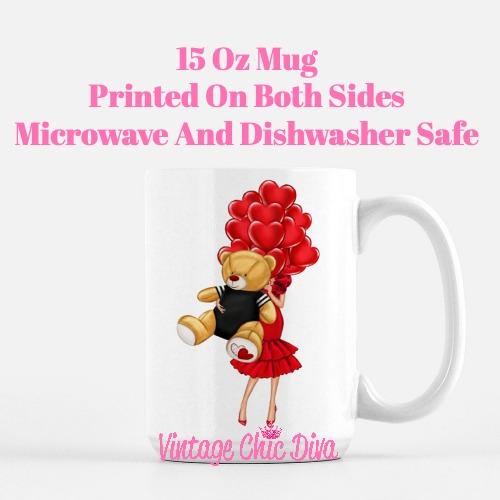 Valentine Girls66 Coffee Mug-
