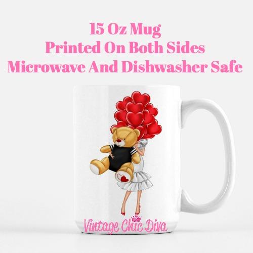 Valentine Girls68 Coffee Mug-