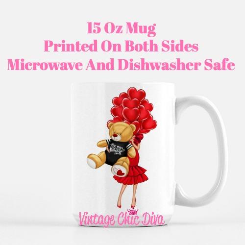 Valentine Girls69 Coffee Mug-
