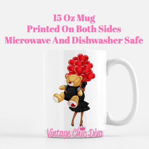 Valentine Girls70 Coffee Mug-
