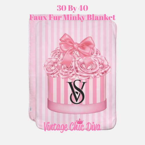 VS Flower Box11 Blanket-